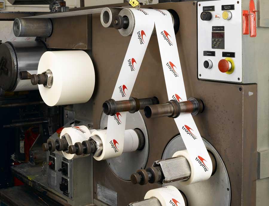 Impresión de cintas adhesivas