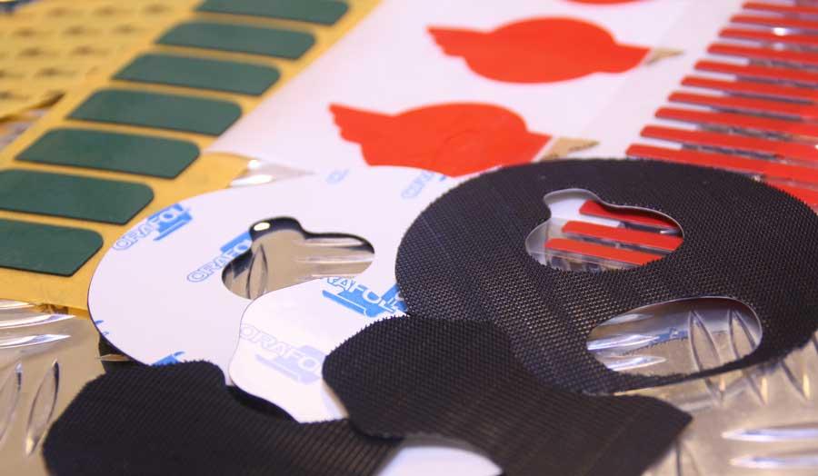 Troquelado de cintas adhesivas