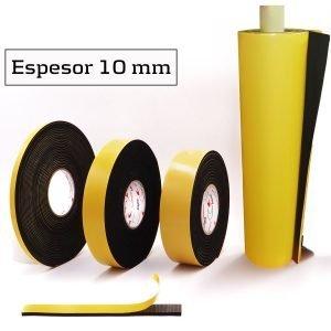Burlete Adhesivo EPDM espesor 10 mm - Trayma