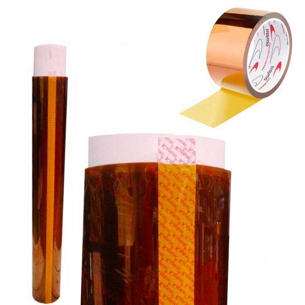 Cinta adhesiva kapton adhesivo silicona