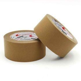 Precinto adhesivo de papel kraft para el cierre de cajas y operaciones de embalaje