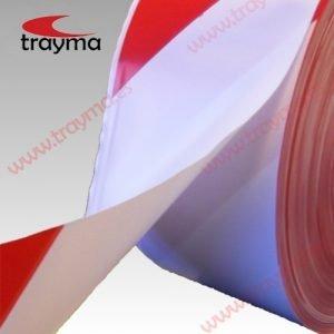 TYM BALIZAMIENTO - Cinta de Balizamiento No Adhesiva Rojo / Blanco
