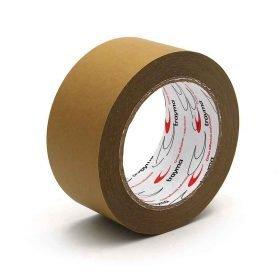 TYM 1121 Cinta adhesiva de papel kraft para embalaje y cierre de cajas de cartón ecológico