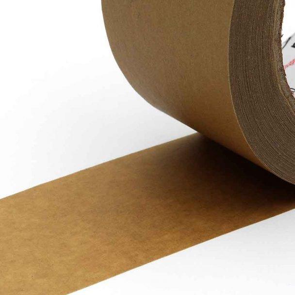 Vista en detalle de Cinta adhesiva de papel kraft ecológico para embalaje