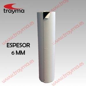 TYM 1691/60 Cinta adhesiva espuma dura de PVC de 6 mm de espesor
