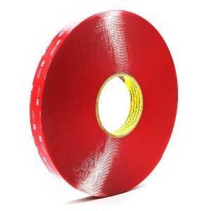 3M VHB 4905 cinta doble cara de espuma transparente