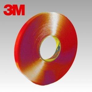 3M 4918 F Cinta de espuma acrílica transparente VHB de 2 mm