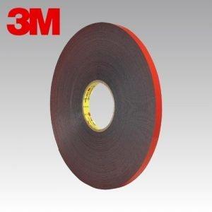 3M 5925 F Cinta de espuma acrílica VHB para superficies con pintura en polvo - 0.64 mm espesor