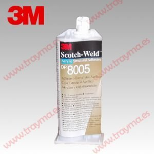 3M DP 8005 Adhesivo estructural Scotch Weld Bicomponente Acrílico - PLÁSTICOS