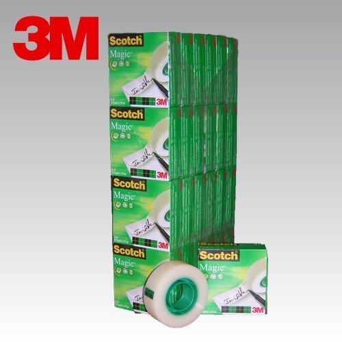 3M SCOTCH MAGIC 810 Cinta adhesiva invisible presentación en caja individual