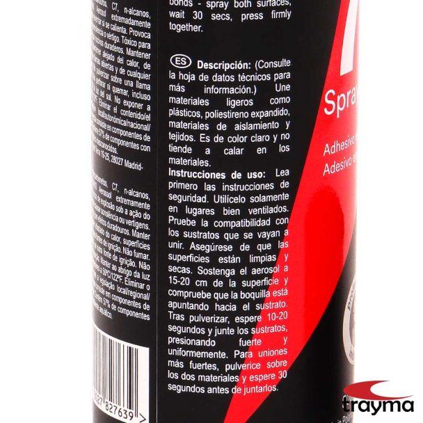 3m_super_77_spray_adhesivo Etiqueta posterior