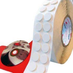 Circulos adhesivos para CD, incluir o adjuntar discos en carpetas, informes médicos, etc