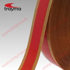 TYM 81581 Cuadrados de cinta adhesiva tejido americana rojo