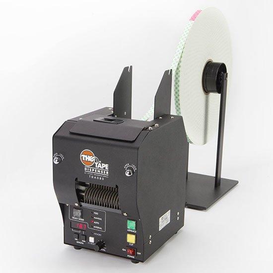 Dispensador electrónico de cinta adhesiva TDA080NS Start International. Dispensa y corta cintas 3M VHB y espumas adhesivas