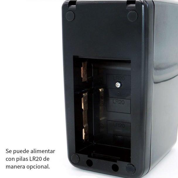 Vista detalle de maquina dispensadora de cinta adhesiva
