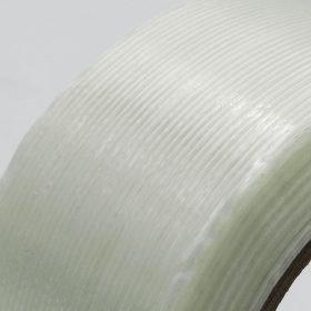 Cinta adhesiva reforzada con fibra de vidrio unidireccional