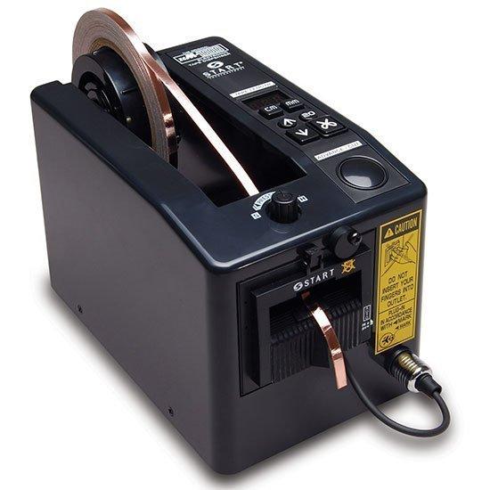 Dispensador automático electrónico de cinta adhesiva para cintas con medidas estrechas