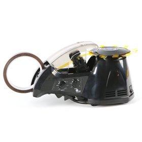 Dispensador automático y electrónico de cinta adhesiva, corta, avanza y dispensa automáticamente diferentes tipos de cinta adhesiva