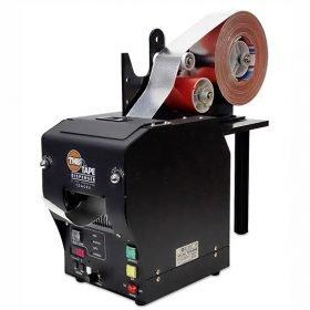 Dispensador automático de cinta adhesiva con retirada del protector / liner, apto para rebobinado inverso