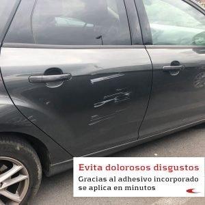 Protector de columnas de aparcamiento adhesivo