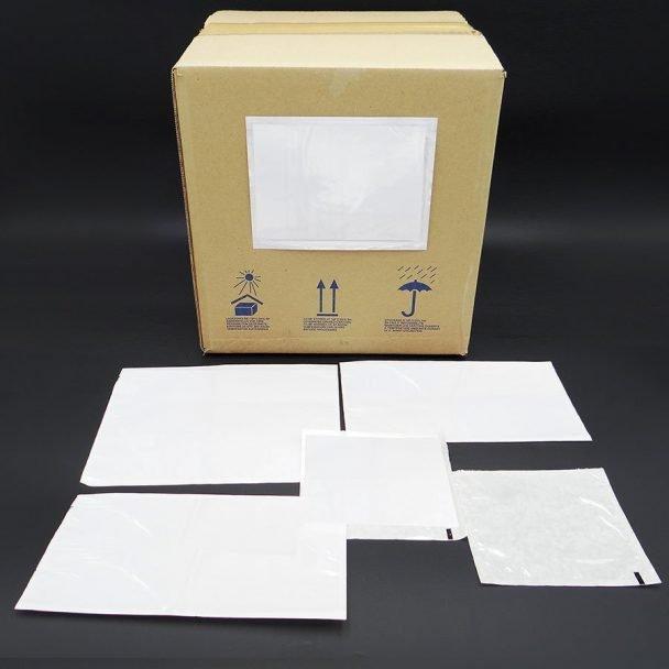 Sobres packing list para albaranes adhesivos para pegar en las cajas