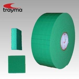 TYM 84518 Tacos separadores adhesivos de seguridad para CRISTAL / VIDRIO