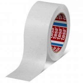 Cinta adhesiva de papel kraft premium color blanco tesa 4313