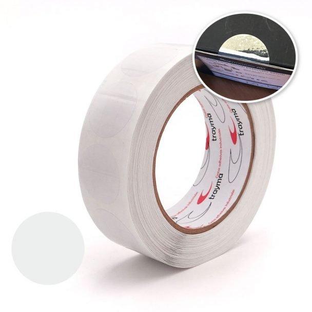 TYM 81383 Circulos adhesivos transparentes precinto de garantia