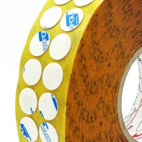 Circulos adhesivos doble cara