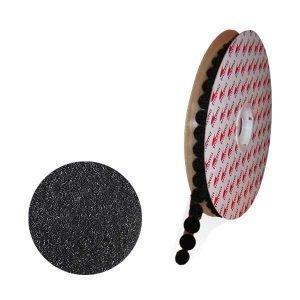 Trayma TYM 8LOOP circulos adhesivos de gancho y bucle hembra