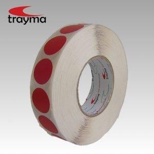 TYM 81565 Círculos de cinta adhesiva de tejido plastificado EXTRA - Negro, 16 uds. (24.000 piezas) 20% dto.