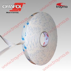 TYM 2652/1 TM Cinta adhesiva de doble cara de espuma de polietileno 1 mm de espesor