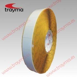 TYM 82659 Tacos adhesivos troquelados de espuma doble cara REMOVIBLE en 1,2 mm