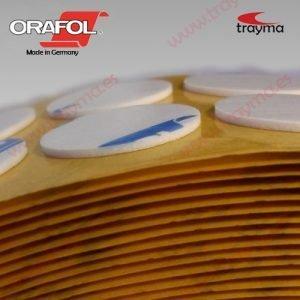 TYM 82652/1 TM Círculos adhesivos troquelados doble cara de espuma de 1 mm de espesor, 18 mm de diámetro