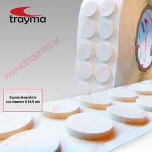 TYM 87328 E Discos adhesivos troquelados para CD
