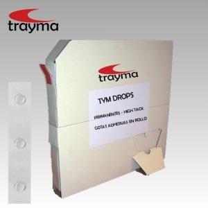 TYM DROPS Gotas adhesivas en rollo PERMANENTES - HIGH TACK