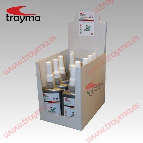 TYM FT36 - Alta Resistencia Adhesivo Anaeróbico Glue Tym - FIJA TORNILLOS - Alta Resistencia
