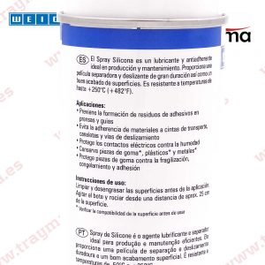 Weicon spray lubricante silicona