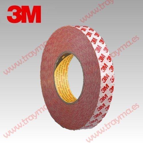 3m 9088 cinta adhesiva de doble cara resistente a la - Cinta adhesiva 3m doble cara ...