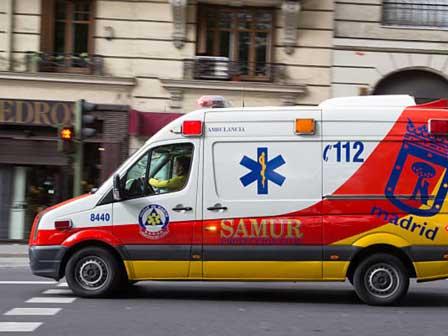Cinta adhesiva para ambulancias