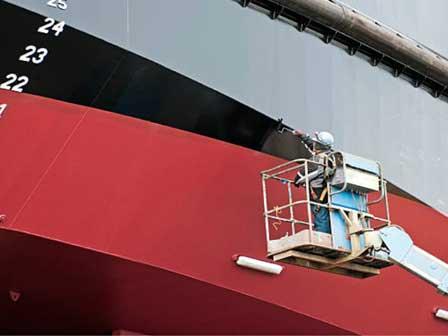 Cinta adhesiva para barcos