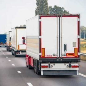 Cinta adhesiva reflectante para camiones