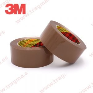 Cinta Adhesiva de Polipropileno Marron 3M 309