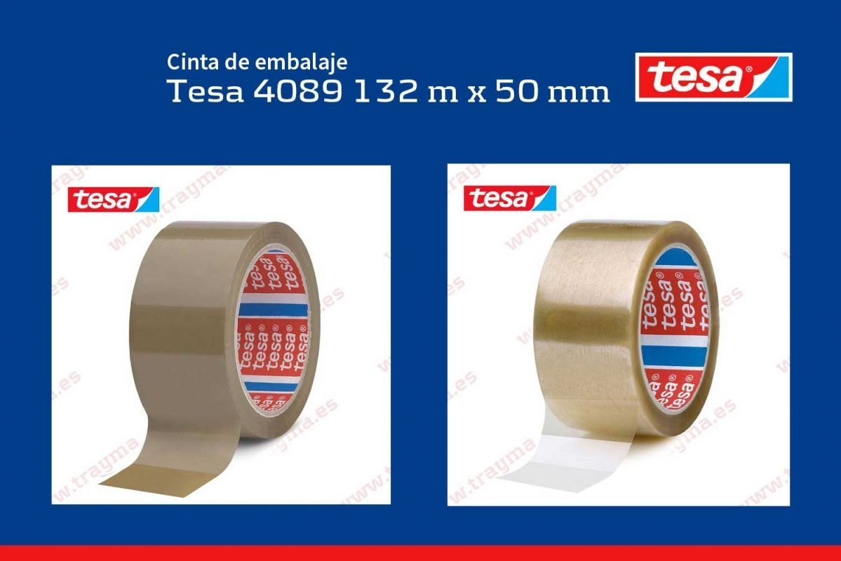 Tesa 4080, cinta adhesiva de embalaje de polipropileno