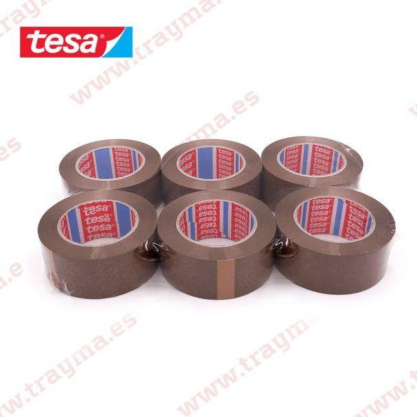 Precinto de polipropileno Tesa 4089 marrón 132m