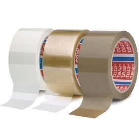 Precinto de polipropileno de alta calidad tesa 4089 disponible en blanco, marrón y transparente