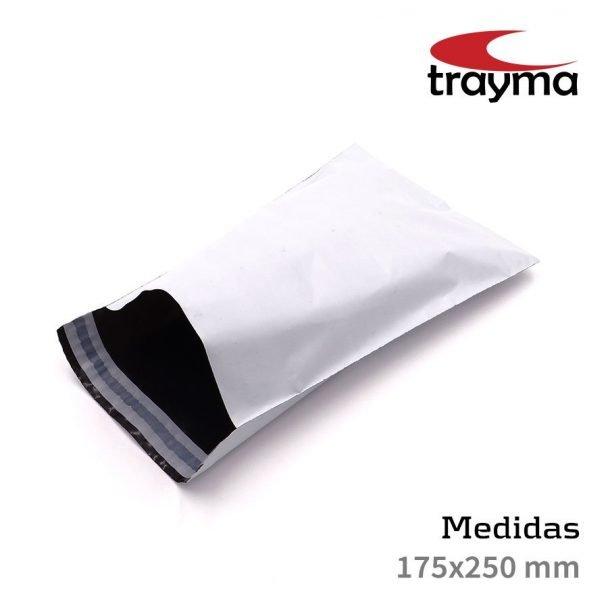 Bolsas de plástico para envios 175x250 mm - TYM BAGS