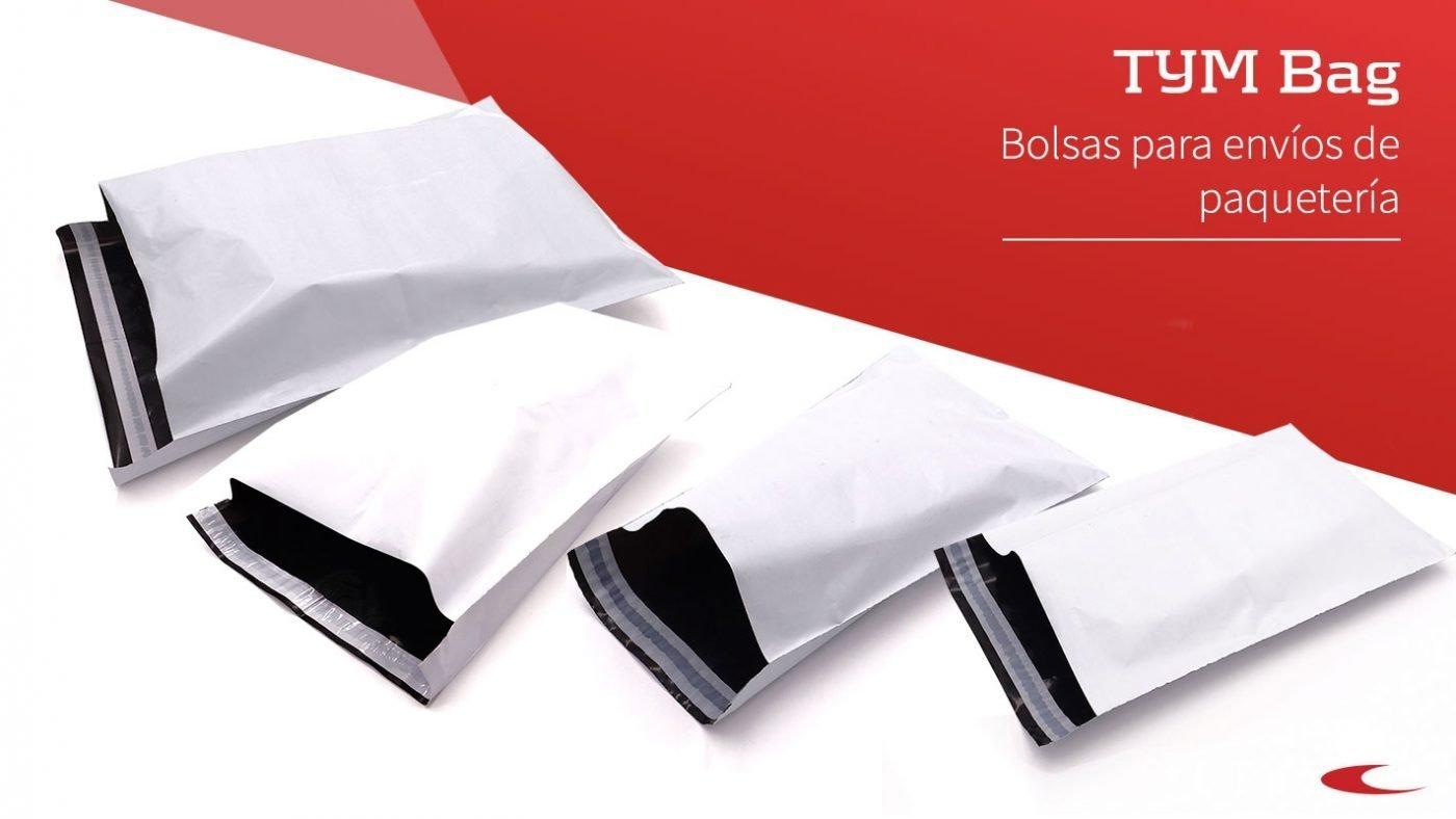 Bolsas de plástico para envíos de paquetería - TYM Bag