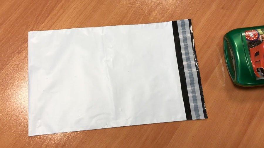 Bolsa para envios correos blancas opacas
