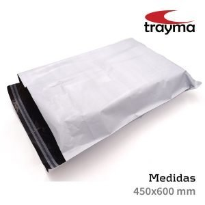 Bolsa de plastico para correos 450 x 600 mm